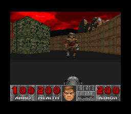 Doom - this might be how close the cyberdemon get - User Screenshot